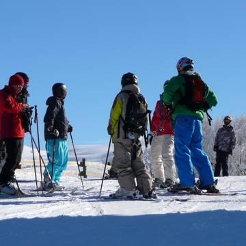 De skigebieden